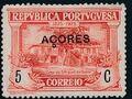 Azores 1925 Birth Centenary of Camilo Castelo Branco d.jpg