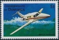 Dominica 1998 Modern Aircrafts s