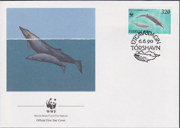 Faroe Islands 1990 WWF - Whales h