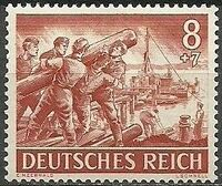 Germany-Third Reich 1943 Armed Forces and Heroes Day e