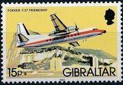 Gibraltar 1982 Airplanes h