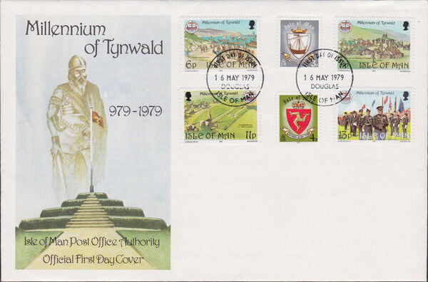 Isle of Man 1979 1000th Anniversary of the Tynwald Parlament k