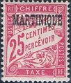 Martinique 1927 Postage Due Stamps of France Overprinted d.jpg