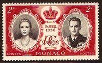 Monaco 1956 Wedding of Prince Rainier III & Grace Kelly b