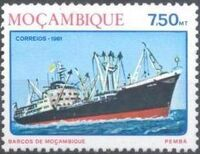 Mozambique 1981 Ships of Mozambique d