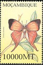 Mozambique 2002 Butterflies f