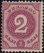 Netherlands Antilles 1889 Numbers b