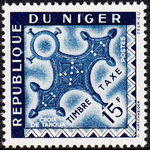 Niger 1962 Cross of Agadez - Postage Due Stamps g