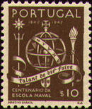 Portugal 1945 100th Anniversary of the Maritim School a