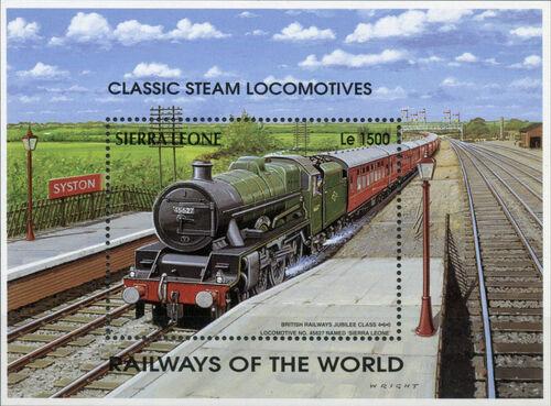Sierra Leone 1995 Railways of the World SSa