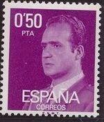 Spain 1977 King Juan Carlos I - 2nd Group b