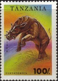 Tanzania 1994 Prehistoric Animals c