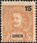 Zambezia 1903 D. Carlos I f