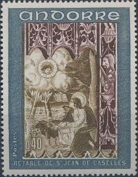 Andorra-French 1969 Frescoes b