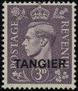 "British Offices in Tangier 1949 King George VI Overprinted ""TANGIER"" c"