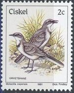 Ciskei 1981 Definitive - Birds b