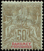 Dahomey 1900 Navigation and Commerce d