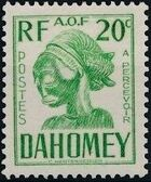 Dahomey 1941 Carved Mask d