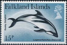 Falkland Islands 1980 Porpoises & Dolphins e