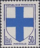 France 1958 Coat of Arms a