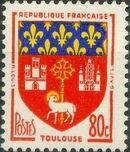 France 1958 Coat of Arms c