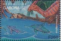 Gabon 1995 Prehistoric Wildlife zg