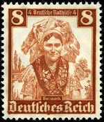 Germany-Third Reich 1935 Regional Costumes e