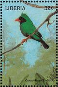 Liberia 1998 Birds of the World g