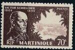 Martinique 1945 Victor Schoelcher f
