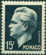 Monaco 1951 Prince Rainier III e