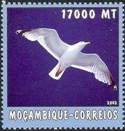 Mozambique 2002 The World of the Sea - Sea Birds 1 a