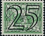Netherlands 1940 Numerals - Stamps of 1926-1927 Surcharged i