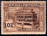 Portugal 1927 Red Cross - 400th Birth Anniversary of Camões f