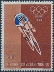San Marino 1960 17th Olympic Games in Rome f