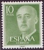 Spain 1955 General Franco p