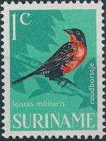 Surinam 1966 Birds a