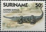 Surinam 1988 Alligators and Crocodiles a