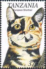 Tanzania 1999 Cats of the World g