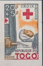Togo 1959 100th Anniversary of International Red Cross g