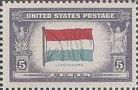 United States of America 1943 Overrun Countries Issue d