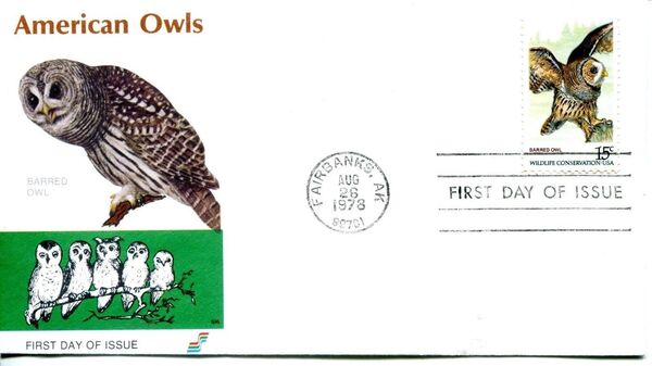 United States of America 1978 Wildlife Conservation Issue FDCg