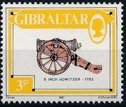 Gibraltar 1987 Guns and Artillery c