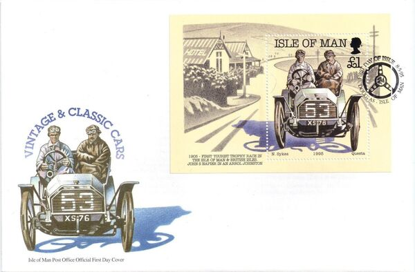 Isle of Man 1995 90th Anniversary of British Motor Car Racing l