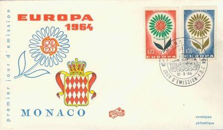 Monaco 1964 Europa f