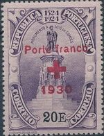 Portugal 1930 Red Cross - 400th Birth Anniversary of Camões f