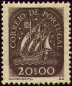 Portugal 1943 Portuguese Caravel (3rd Issue) g