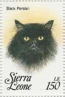 Sierra Leone 1993 Cats of the World p