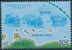 St Vincent 1989 500th Anniversary of Discovery of America 1992 o