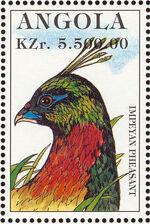 Angola 1996 Hunting Birds l