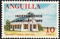 Anguilla 1969 Independence g